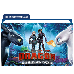 How to Train Your Dragon The Hidden World Folder Icon Free Download