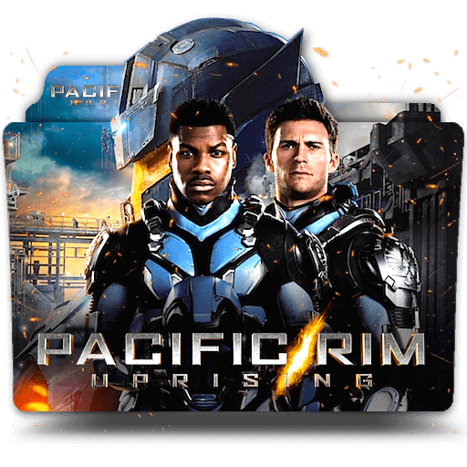 Pacific Rim Uprising 2018 Folder Icon Designbust