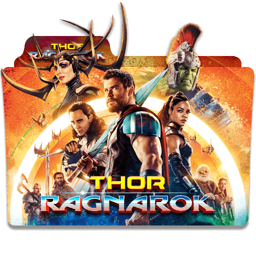 Thor Ragnarok 2017 Folder Icon Designbust