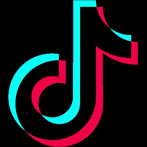 tiktok transparent icon - DesignBust