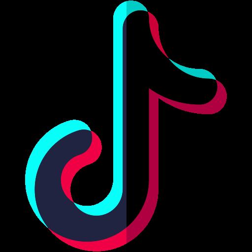 transparent tiktok logo - DesignBust