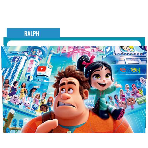 Ralph Breaks The Internet 2018 Folder Icon Free Download Designbust