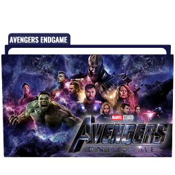 Avengers Endgame Folder Icon Free Download