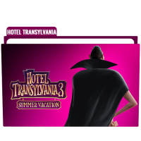 Hotel Transylvania Summer Vacation Folder Icon Free Download