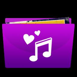 Music Album Folder Icon