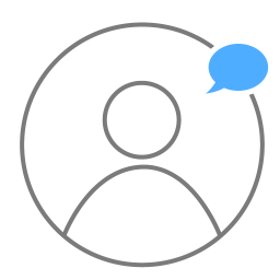 User New Message Icon