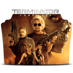 Terminator Dark Fate 2019 Folder Icon