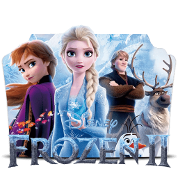 Frozen 2019 Folder Icon
