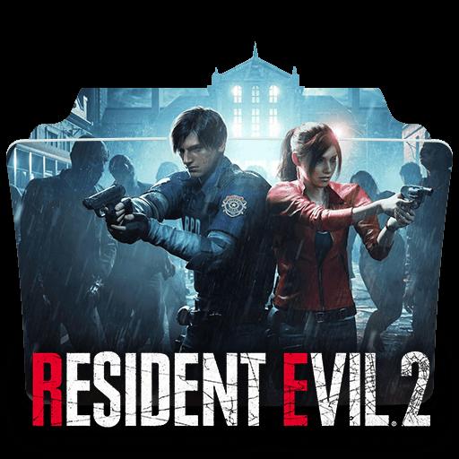 Resident Evil 2 Folder Icon Designbust