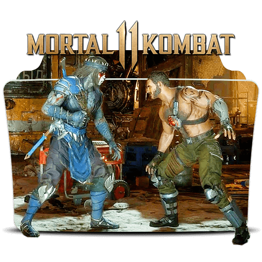 Mortal Kombat 2019 Folder Icon