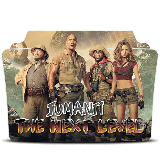 Jumanji The Next Level Folder Icon