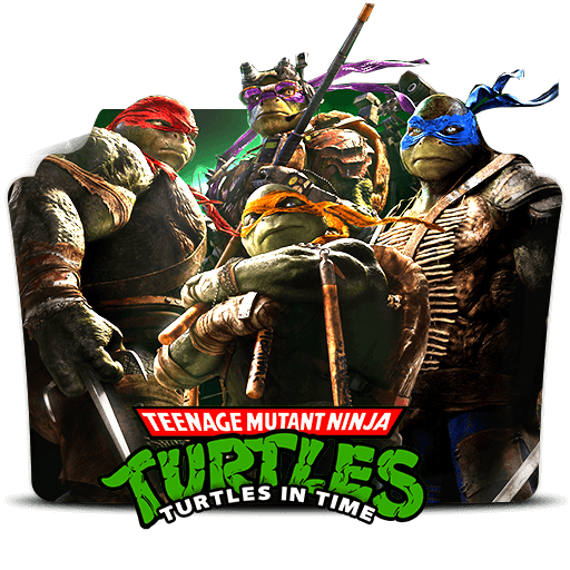 Teenage Mutant Ninja Turtles Folder Icon
