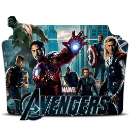 The Avengers 2012 Folder Icon