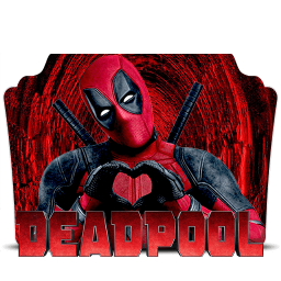 Deadpool 2016 Folder Icon