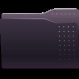 Black Folder Icon Free Download