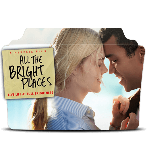 All The Bright Places Folder Icon Designbust