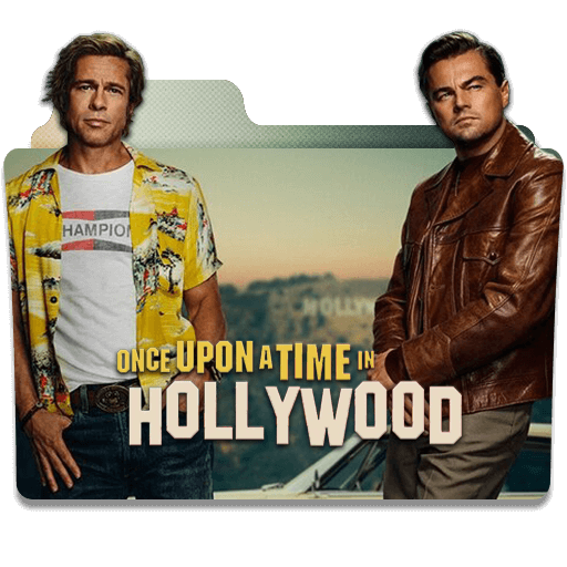 Once Upon A Time In Hollywood 2019 Folder Icon Designbust