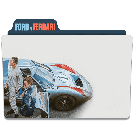 Ford V Ferrari Movie Folder Icon
