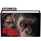 War for the Planet of the Apes Folder Icon Free Download
