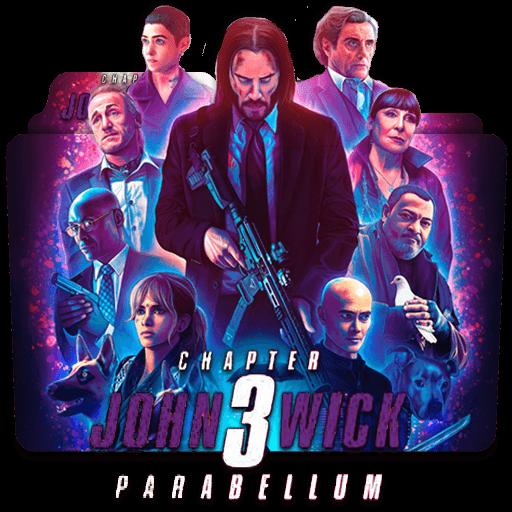 John Wick Chapter 3 Movie Folder Icon Designbust