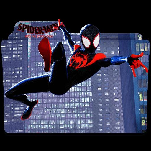 spider man into the spider verse transparent  designbust